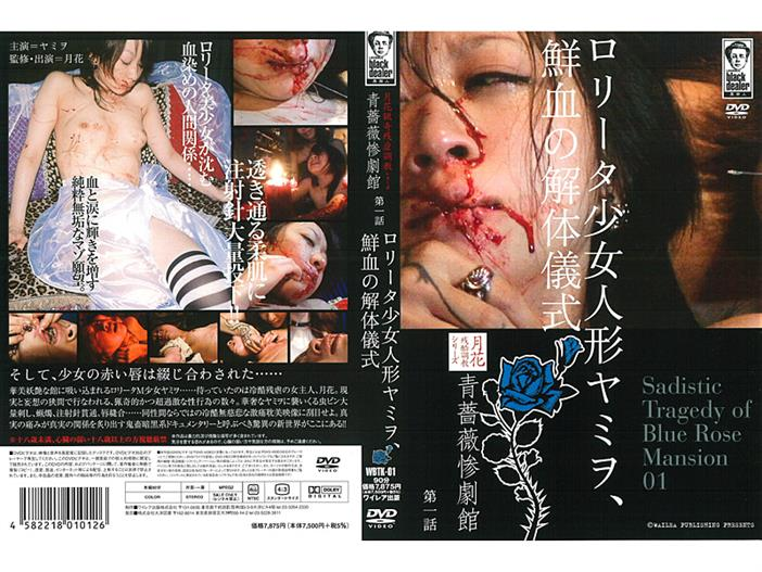 WBTK-01 (B) Dismantling Ceremony Yamiwo Girl First Episode Data Tragedy Building ● Blue Rose, The Fresh Blood